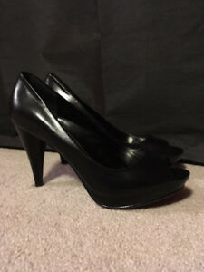 (LIKE NEW) Style & Co. 6-inch Open-toe Heels