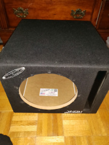 "Groundshaker 10"" Ported Subwoofer Box"