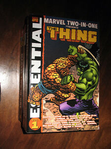 ESSENTIAL MARVEL TWO IN ONE VOL. 1-2-3-4 MARVEL COMICS