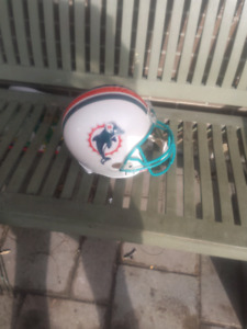 NFL AUTHENTIC  RIDDELL MIAMI DOLPHINS  FOOTBALL HELMET