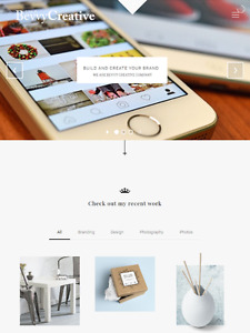 Eye Catching Mobile Friendly Website with Free Hosting
