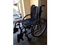 Superb Ex Demo Quickie Life wheelchair