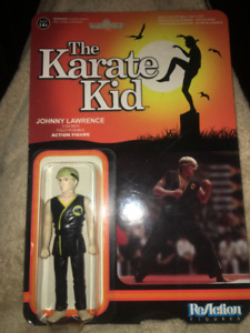 The Karate Kid Johnny Lawrence Re Action Figure NEW IN PACKAGING
