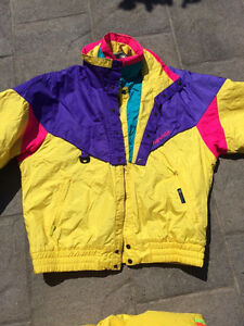 Vintage Nevica 80s-90s ski outfit
