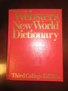 Webster's New World Dictionary Hardcover