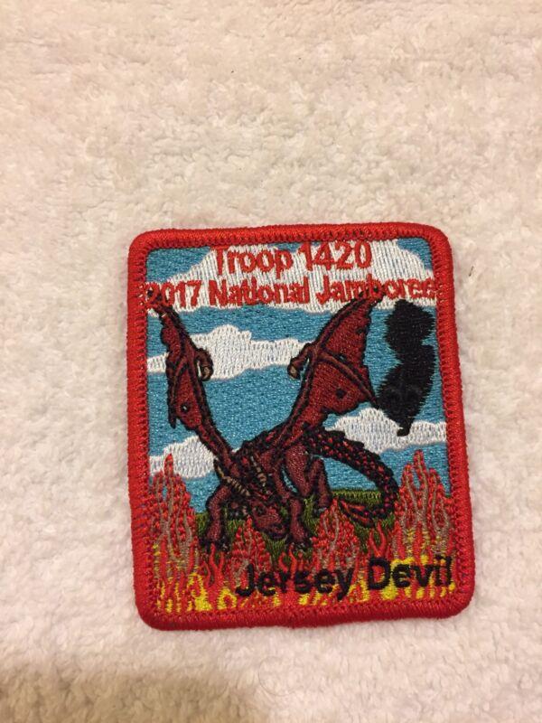 Mint 2017 Jamboree Patch Jersey Devil Troop 1420