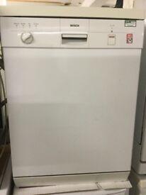 Bosch white Dishwasher 60cm Wide