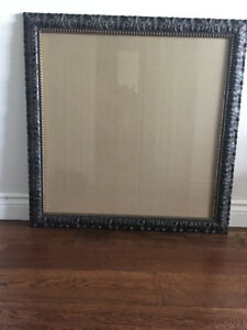 Lovely hand-curved and wooden picture or mirror frame