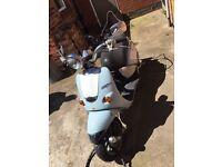 Aprilia mojito custom 125 moped