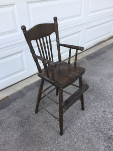 Antique Child High Chair