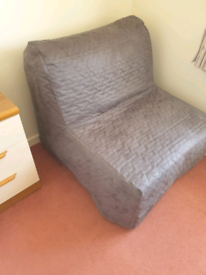 Chair bed.