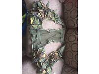 PLCE army chest rig/webbing