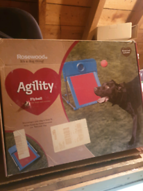 Dog agility kit flyball