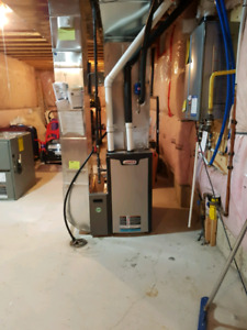 Furnace 2 stage $2000 installed
