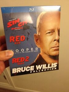 Brand new Bruce Willis 4 Movie Blu ray Collection