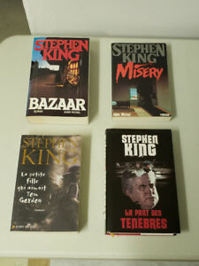 Stephen King en Français - grand format