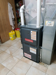 Furnace installation 2 stage $2200 with same day $250 ecm rebate