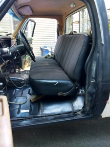 (Reduced) truck Bench seat