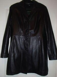 Ladies Danier Leather Coat-REDUCED PRICE
