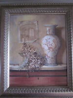 Oil-look framed print