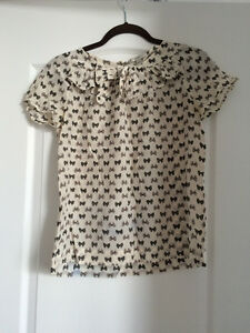 J. Crew Summer Patterned Blouse