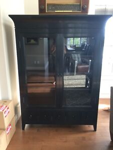 China Cabinet & Coffee Table from Urban Barn