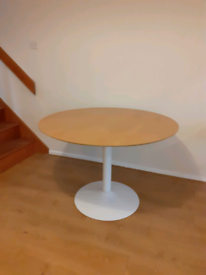 Mid century modern style dining table