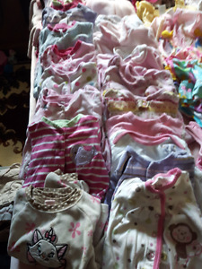 Lot of girl clothing for sale size  6 to 12 months
