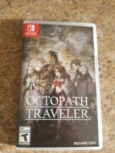 SWITCH - octopath traveler 60$