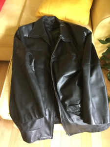 Men's Dress Leather Coat
