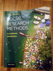 Social Research Methods: 4th Canadian Edition