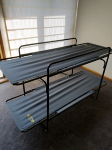Camping stretcher bunks