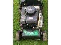 Qualcast Trojan 16 petrol lawnmower with Briggs&Stratton Engine