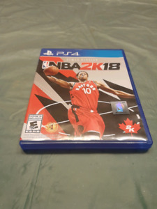 NBA 2K18 PS4 GAME