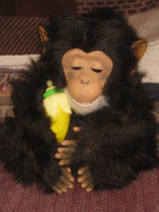 Fur real monkey, Interactive Vintage  Toy