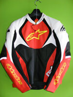 Alpinestars - Jaws Leather Jacket - Size 46 at RE-GEAR Kingston Kingston Area Preview
