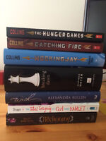 Teen books/novels - hunger games, breaking dawn, and others