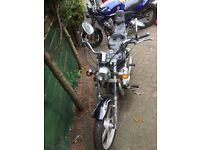 AJS 125 DDE Regal Raptor (Honda CA125 Rebel copy)