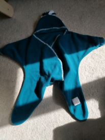 Tuppence and Crumble Starsnug baby suit