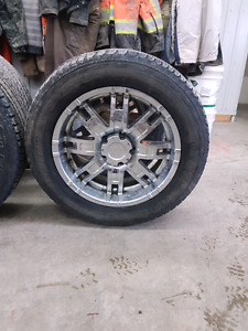 20 inch rims with Firestone tires