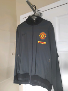Manchester United Training Top Grey