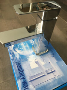 BRAND NEW LUXURY STAINLESS STEEL WASHROOM SINK TAP FOR SALE