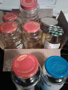 Free glass jars