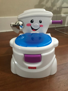 Fisher Price Potty (that plays music) & Travel High Chair