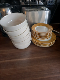 Bowls and side plates