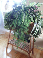 Beautiful Faux Plant Decoration with Stand