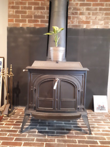 Beautiful Vermont Castings wood stove