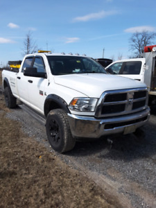 2012 RAM 3500 4X4 CREW CAB LONG BOX WITH THE HIGH OUTPUT CUMMINS