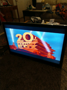 """46"""" dynex LCD TV good working condition no remote $135.00"""