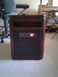 Twin Star Movable 1500w Remote Controlled Heater